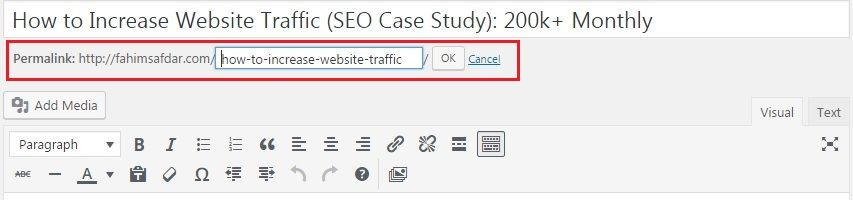Best Permalink Structure for Wordress SEO