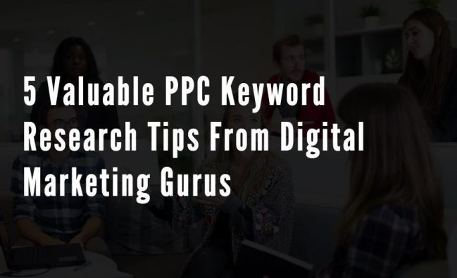 5 Valuable PPC Keywords Research